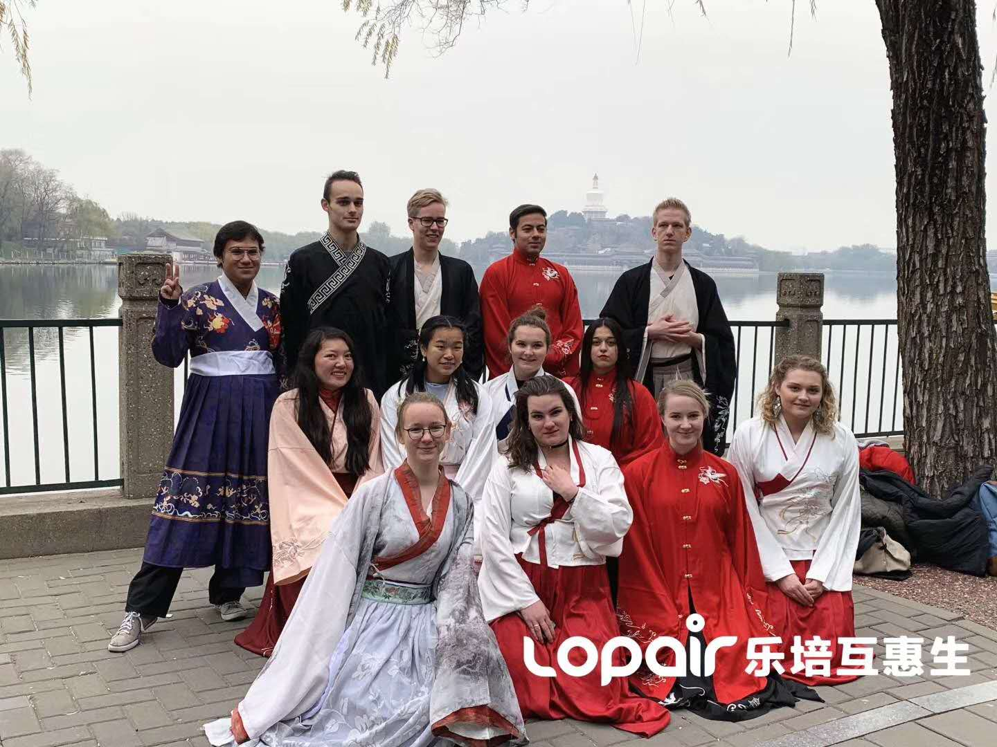 Au Pair in China experience Chinese Ancient Costume!